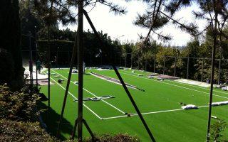 Revêtement terrain sportif